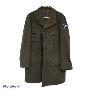 Goteborg wool Swedish military  blazer size 40